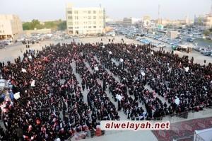 إعتصام نسائي في البحرين: الحرية للحرائر