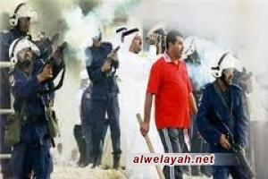 إصابة طفل بحريني برصاص الأمن واعتداء النظام على ممتلكات الشعب