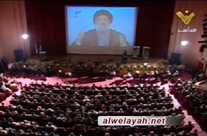 احتفال بالذكرى الثالثة والعشرين لرحيل الإمام الخميني في بيروت
