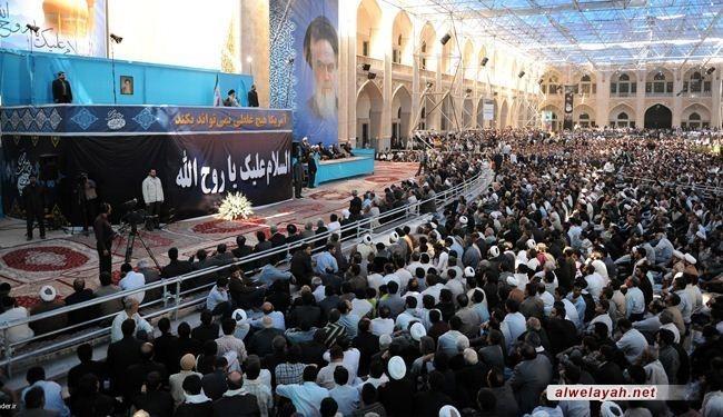 إيران تحيي مراسم الذكرى الـ 24 لرحيل الإمام الخميني