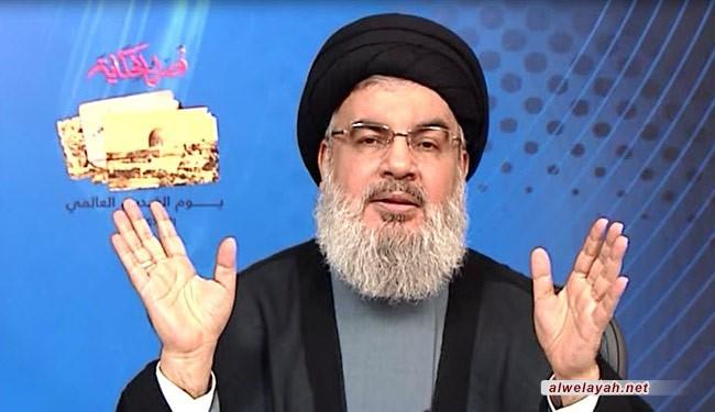 السيد نصر الله: فلسطين كانت تتحرر 10 مرات لو...