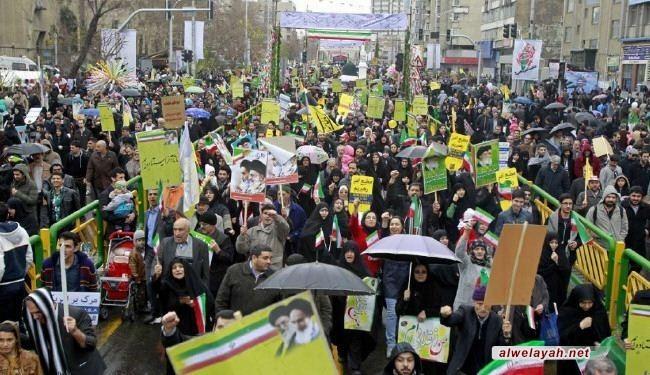إيران الثورة بين المسيرات المليونية والانجازات التاريخية