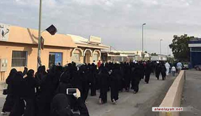 العوامية تنتفض لإعدام شيخها النمر.. وآل سعود يواجهونهم بالمدرعات