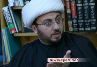 الشيخ علي العلي: رسالة الإمام الخامنئي ركزت على تناقض الغرب في تعامله مع الديمقراطية