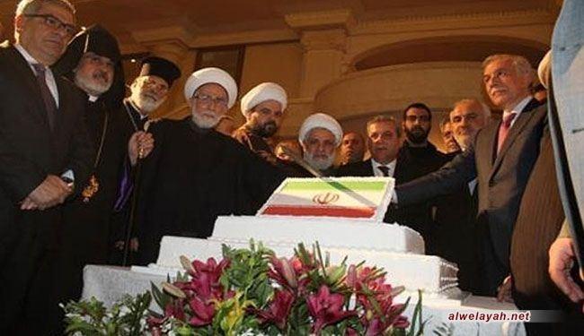 السفارة الإيرانية في لبنان تحيي ذكرى انتصار الثورة الإسلامية
