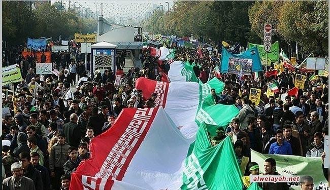 زعيم المسلمين السود بأميركا يشارك في احتفالات ذكرى انتصار الثورة الإسلامية