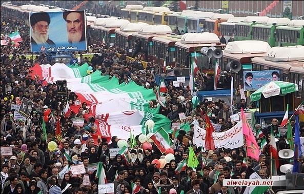 بدء المراسم الوطنية لأيام عشرة الفجر ذكرى انتصار الثورة الإسلامية