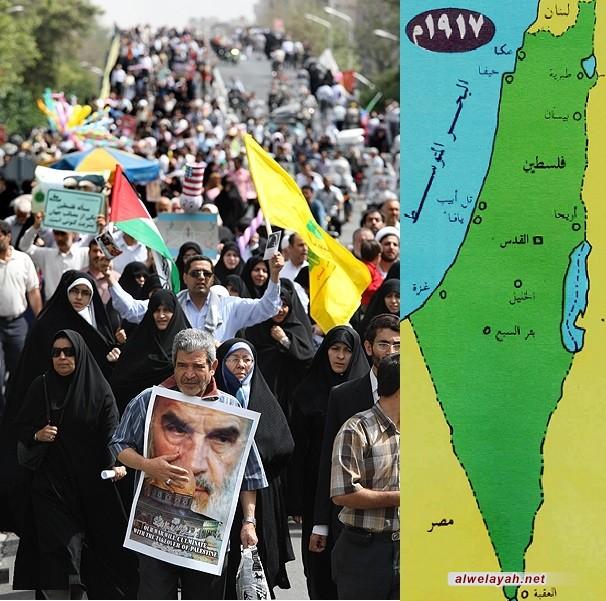 فلسطين في خطاب الإمام الخميني