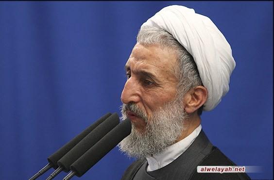 إمام جمعة طهران المؤقت: رسالة قائد الثورة إلى الشباب الغربي تبعث الأمل على عولمة الثورة الإسلامية