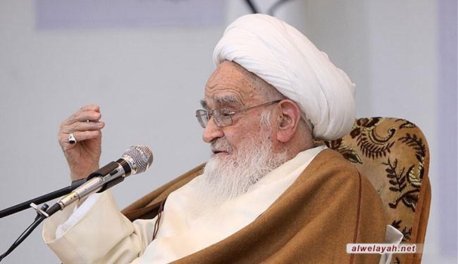 آية الله العظمى صافي كلبايكاني يطالب الأوساط الدولية بإعادة إعمار مقبرة البقيع