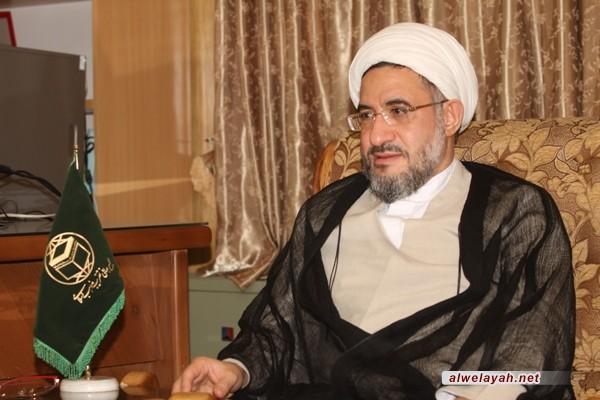 آية الله الاراكي: الثورة الإسلامية لم تكن بالحدث الطارئ المعزول عن حركة التاريخ