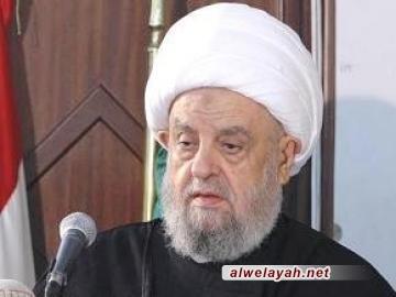 الشيخ قبلان يبرق إلى الإمام الخامنئي مهنئا بالذكرى 37 لانتصار الثورة الإسلامية بإيران