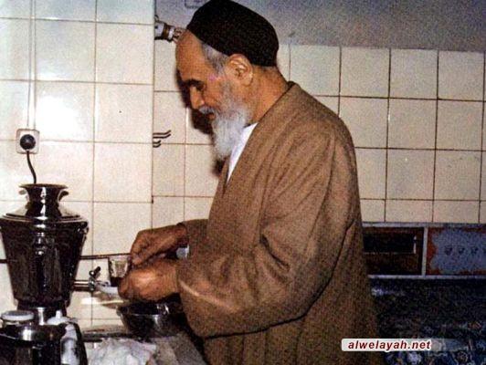 الإمام قدوة التنظيم الحياتي
