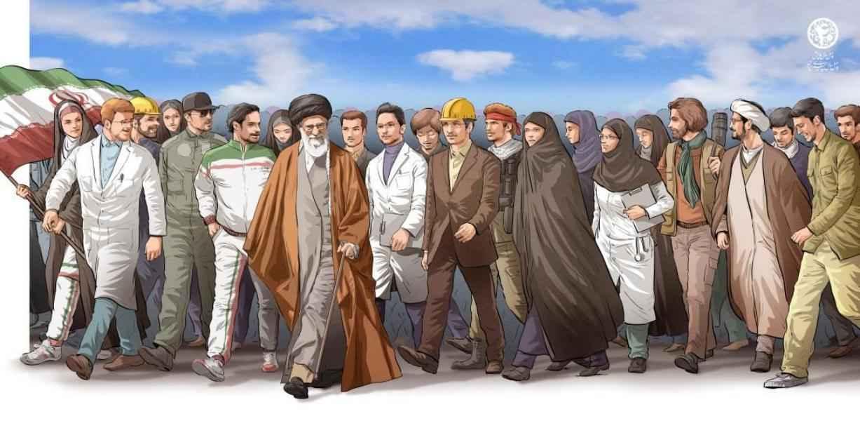 """الإمام الخامنئي (دام ظله): الأعداء يتعرفون: """"ايران لن تركع"""""""