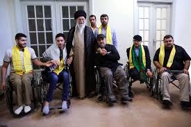 لقطات من لقاء جرحى المقاومة الإسلامية في لبنان بالإمام الخامنئي حفظه الله