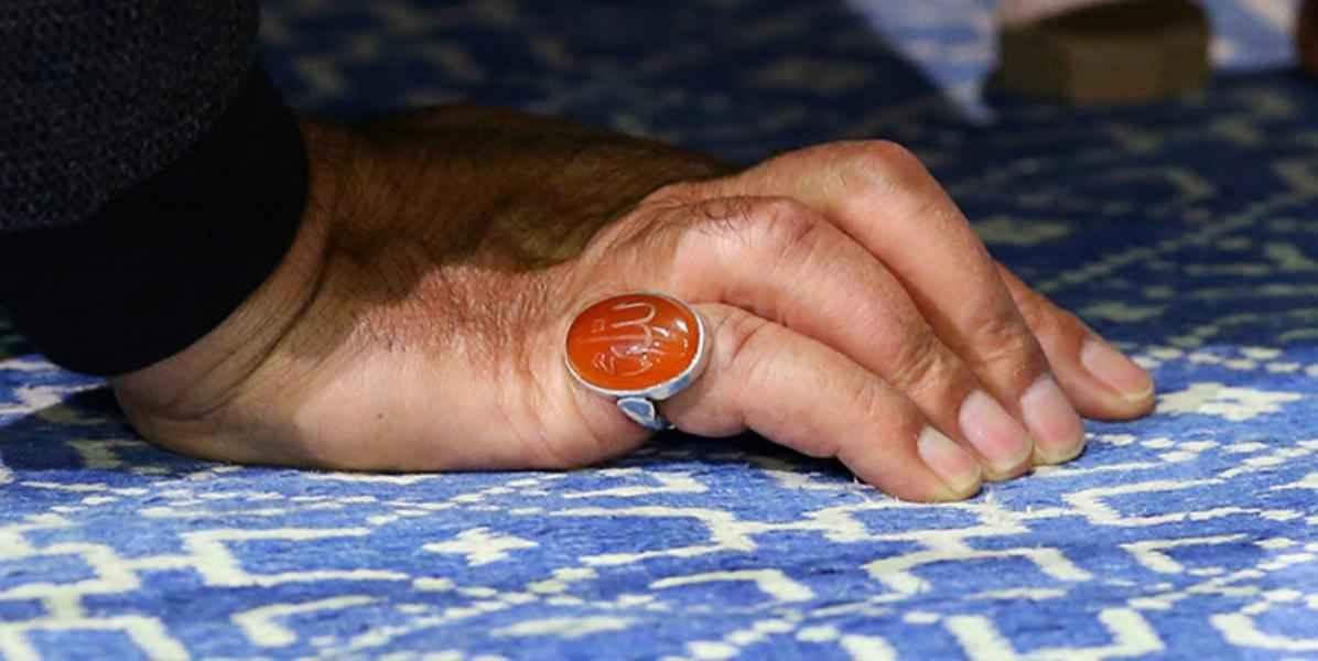 ما سر خاتم الذي كان في يد الشهيد سليماني ؟