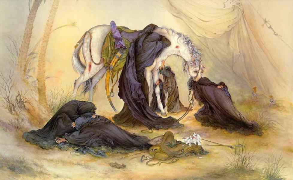 الإمام الخميني (ره): إن محرم وصفر هما اللذان أبقيا الإسلام حيا
