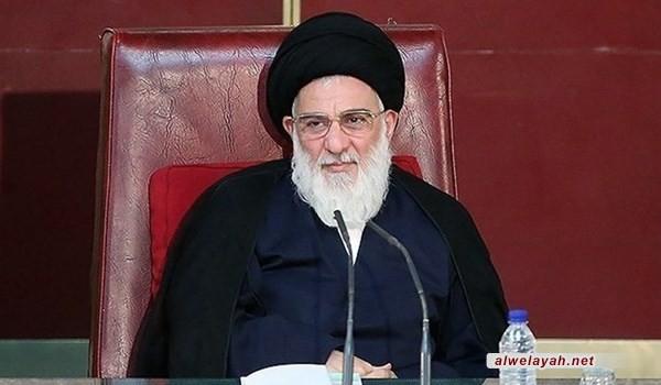 أسرة آية الله الهاشمي الشاهرودي تعزي إمام العصر ومراجع الدين والأمة الإسلامية