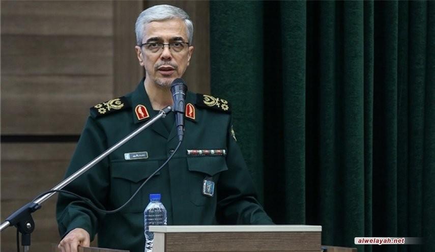 الأركان الإيرانية: قواعد أميركا ومصالحها في مرمى أسلحتنا