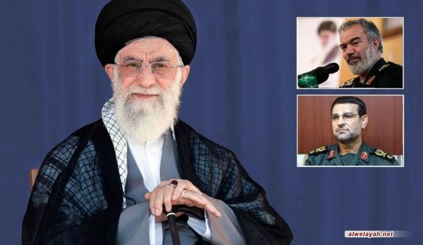 قائد الثورة الإسلامية يعين الأميرال تنكسيري قائدا لسلاح البحر في الحرس الثوري