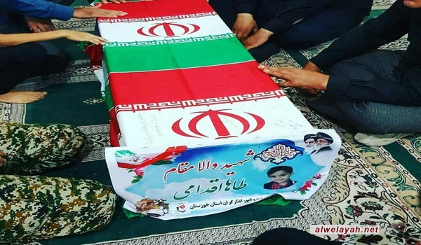 حشود غفيرة تشيع جثامين شهداء الاعتداء الإرهابي في الأهواز