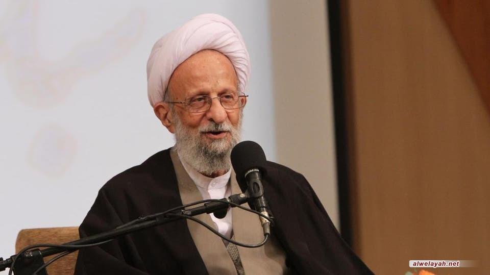 آية الله مصباح يزدي: لا قيمة لشيء أمام القيم الإلهية في فكر الإمام الراحل