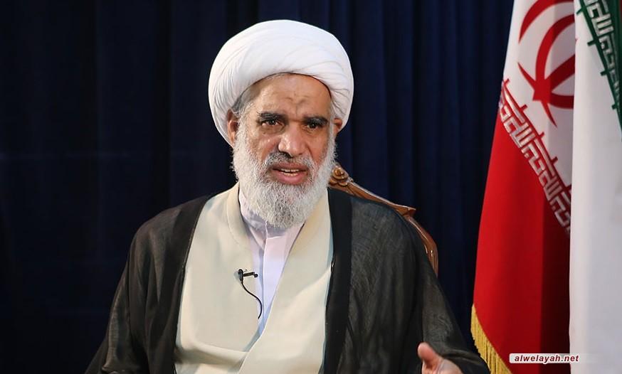 الشيخ عباس الكعبي: كان الإمام الخميني يرى أن أساس الإصلاح هو القيام لله وأساس الفساد هو القيام للنفس