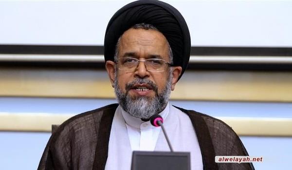 وزير الأمن الإيراني: قائد الثورة أمر برفع مستوی التخصيب