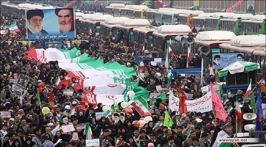 البيان الختامي لمسيرات الذكرى الـ41 لانتصار الثورة الإسلامية؛ صفقة القرن ستموت قبل موت ترامب.