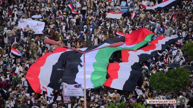 مسيرات يوم القدس العالمي في صنعاء والحديدة وصعدة