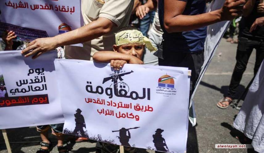 """حركة المقاومة الإسلامية """"حماس"""": في يوم القدس العالمي.. ليعلو صوت الشعب"""