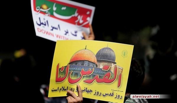 مراسم يوم القدس العالمي ستقام بصورة تجمعات في 218 مدينة ايرانية