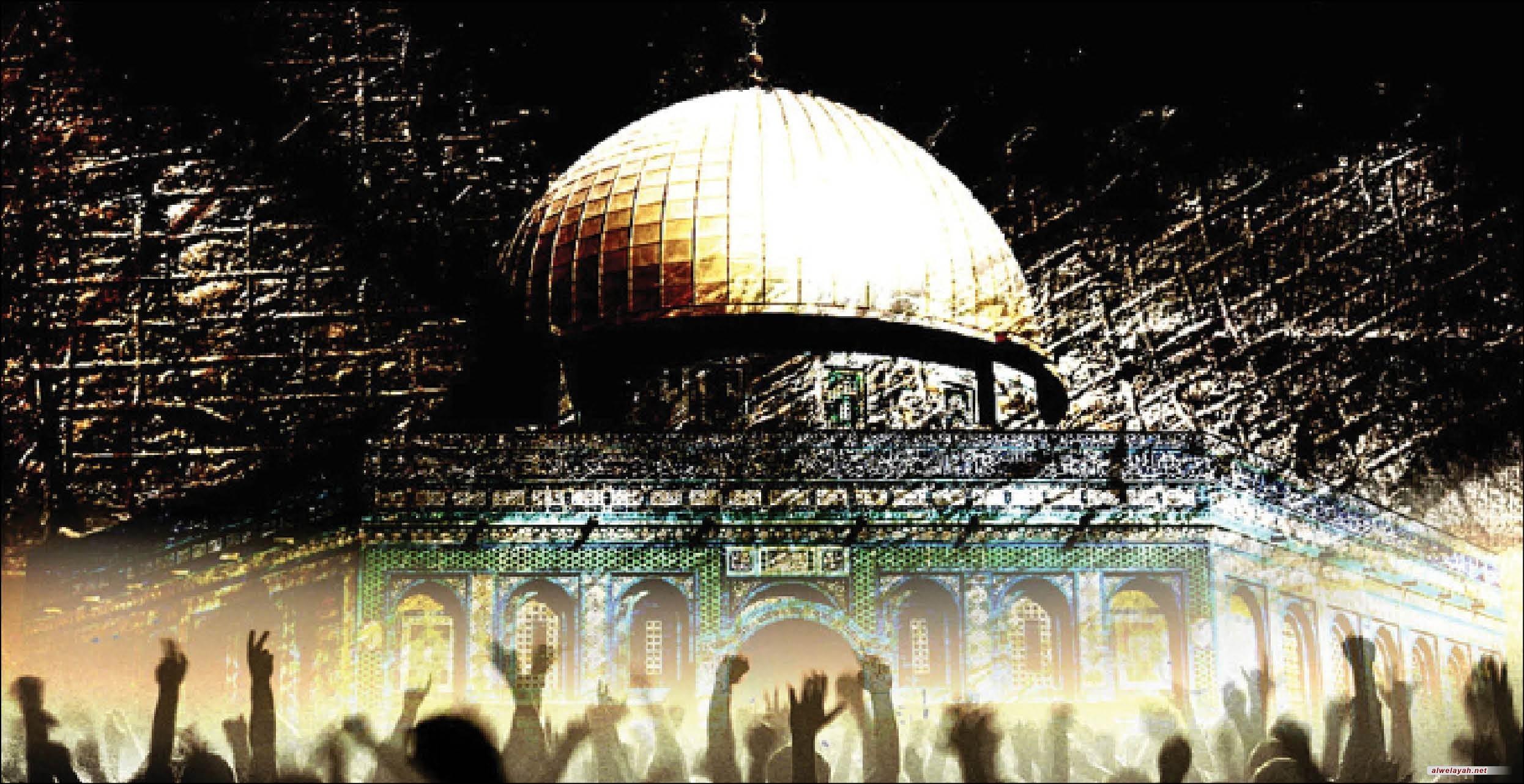 يوم القدس العالمي من اجل هزيمة الاستكبار