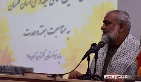 قائد في الحرس الثوري: الثورة الإسلامية أطاحت بهيبة أميركا الظاهرية