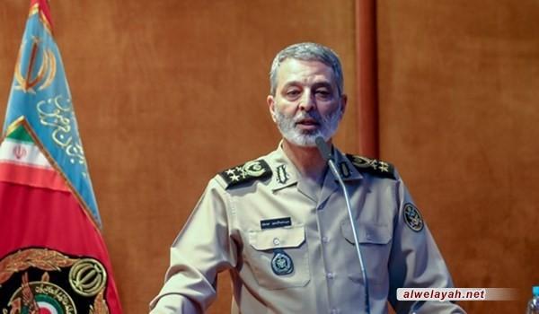 قائد الجيش الإيراني: مؤشرات زوال الكيان الصهيوني باتت جليّة