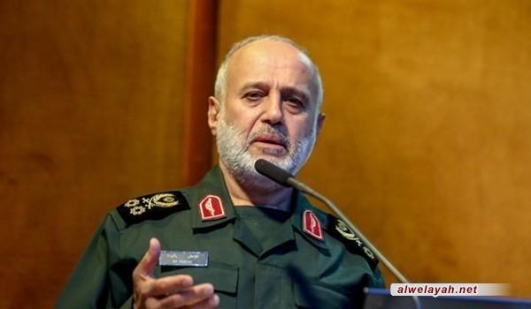 خلال لقائه وزير الدفاع...قائد عسكري إيراني يؤكد ضرورة إنتاج أسلحة متطورة وقادرة على مباغتة العدو