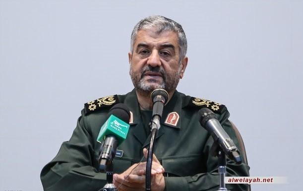 اللواء جعفري: انجازات الثورة الإسلامية لا يمكن حصرها في مجالي الأمن والدفاع