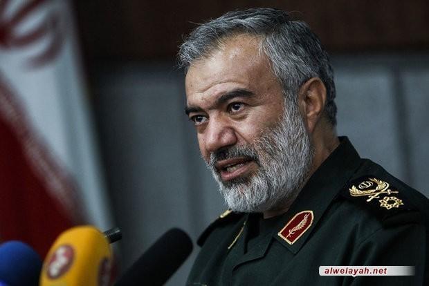 العميد فدوي: الثورة الإسلامية أحرزت مكانة قوية