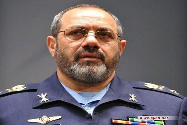 قائد القوة الجوية للجيش: الحضور الواسع بيوم القدس هو تجديد للبيعة مع مبادئ الإمام الخميني(ره)