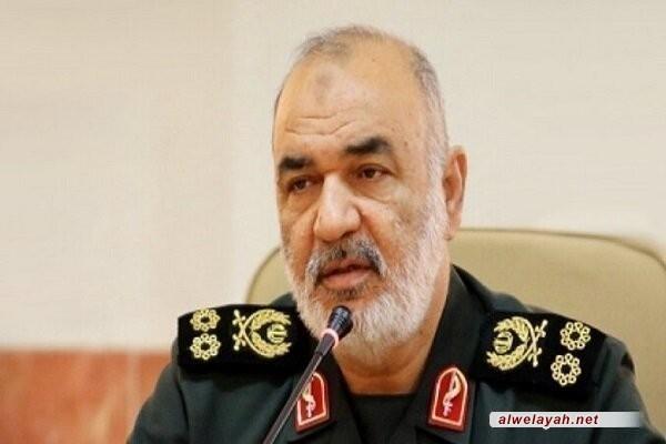 """قائد الحرس الثوري: الهجوم على قاعدة """"عين الأسد"""" لم يكن نهاية الرد الاستراتيجي بل هو نقطة البداية"""