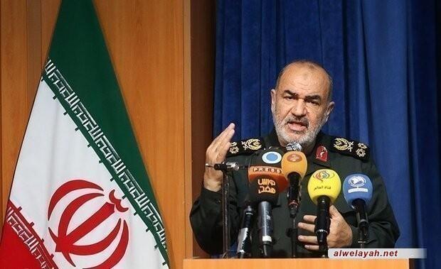 القائد العام لحرس الثورة الإسلامية؛ مستعدون للانتقام لدم القائد سليماني وشهداء المقاومة