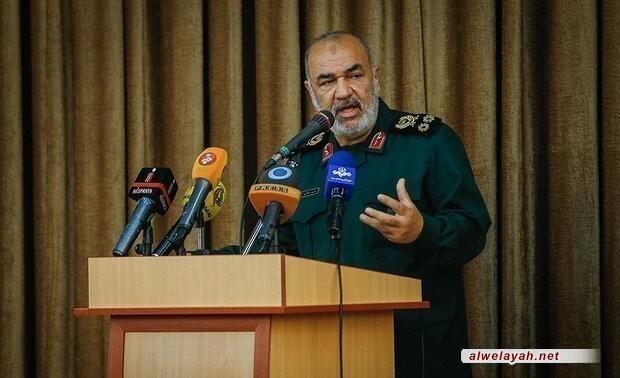 اللواء سلامي: أعداء الثورة الإسلامية تلقوا صفعة قوية من الشعب الإيراني