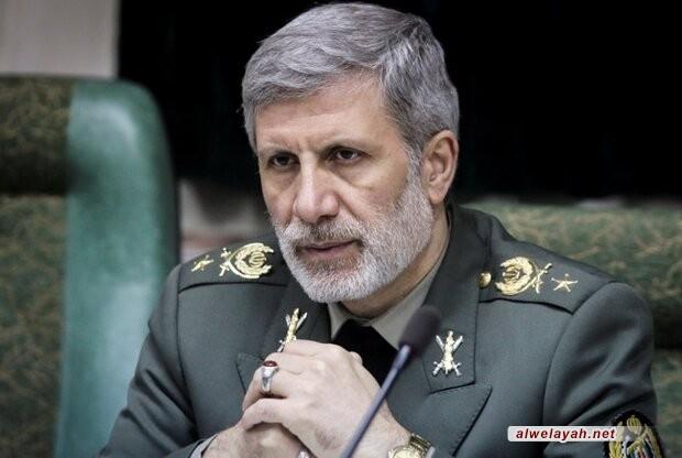 وزير الدفاع الإيراني: كيان الاحتلال منبوذ في المنطقة/ نسف حيفا وتل أبيب رهن إشارة قائد الثورة