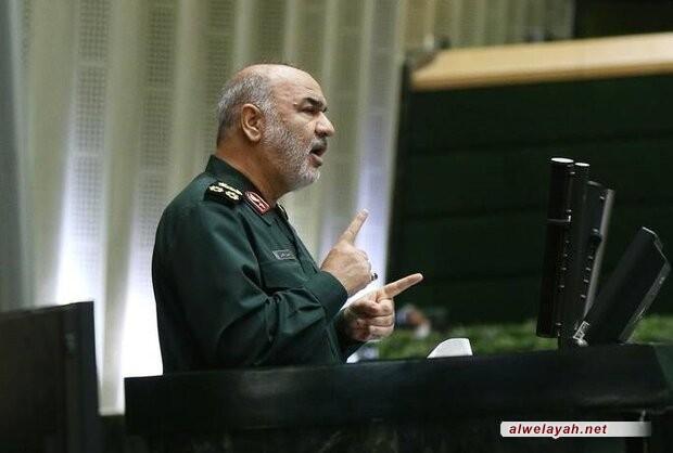 قائد الحرس الثوري: لقد قبرنا احلام اميركا السياسية لتحقيق الشرق الاوسط الجديد