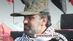 """استشهاد """"عبد الحسين مجدمي"""" قائد في قوات التعبئة بمدينة دارخوين بمحافظة خوزستان"""
