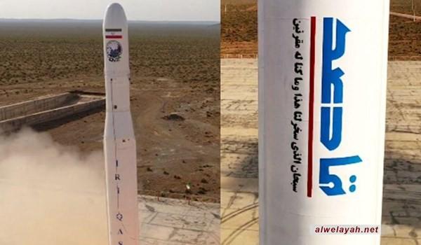 الحرس الثوري يطلق بنجاح أول قمر صناعي عسكري إيراني