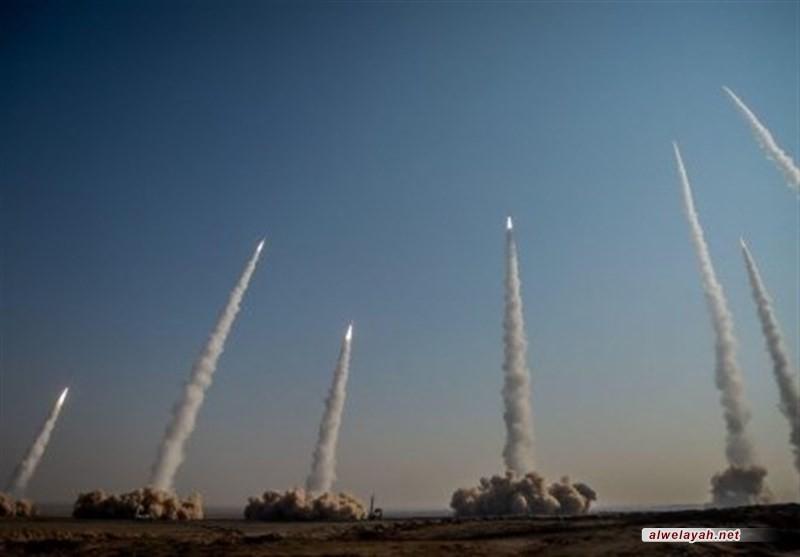 حرس الثورة يجري المرحلة الأولى من المناورات الصاروخية