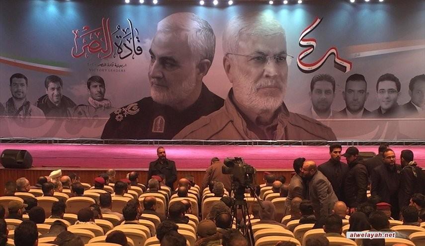 إحياء ذكرى قادة النصر في بغداد والنجف في أربعينيتهم