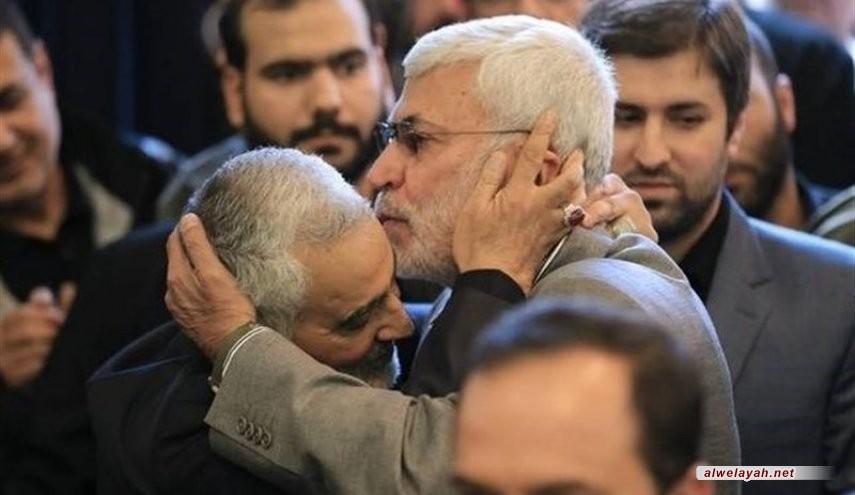 دم الشهيدان سليماني والمهندس سيحرر فلسطين ولو بعد حين