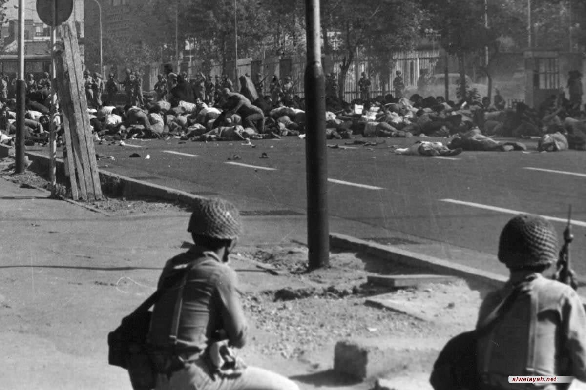 في الذكرى السنوية لمجزرة الجمعة السوداء؛ الدماء التي أريقت في الثامن من سبتمبر روت شجرة الثورة الإسلامية الباسقة